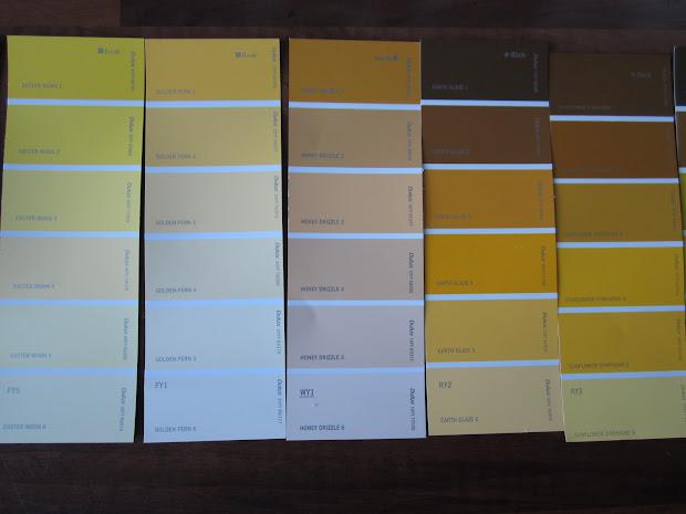 Dulux Paint Color Charts Interior Vtwctr