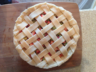 Step 6 - How to Make a Lattice Pie Crust