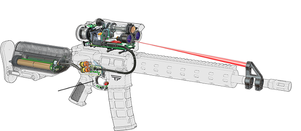 The Tracking Point 338TP the Linux rifle that s accurate up to a mile