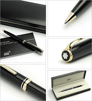 Mont Blanc Ball Point Pen Generation Gold1