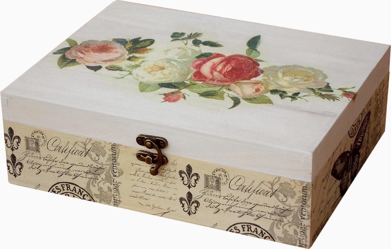 A - Cajas de decoracion ...