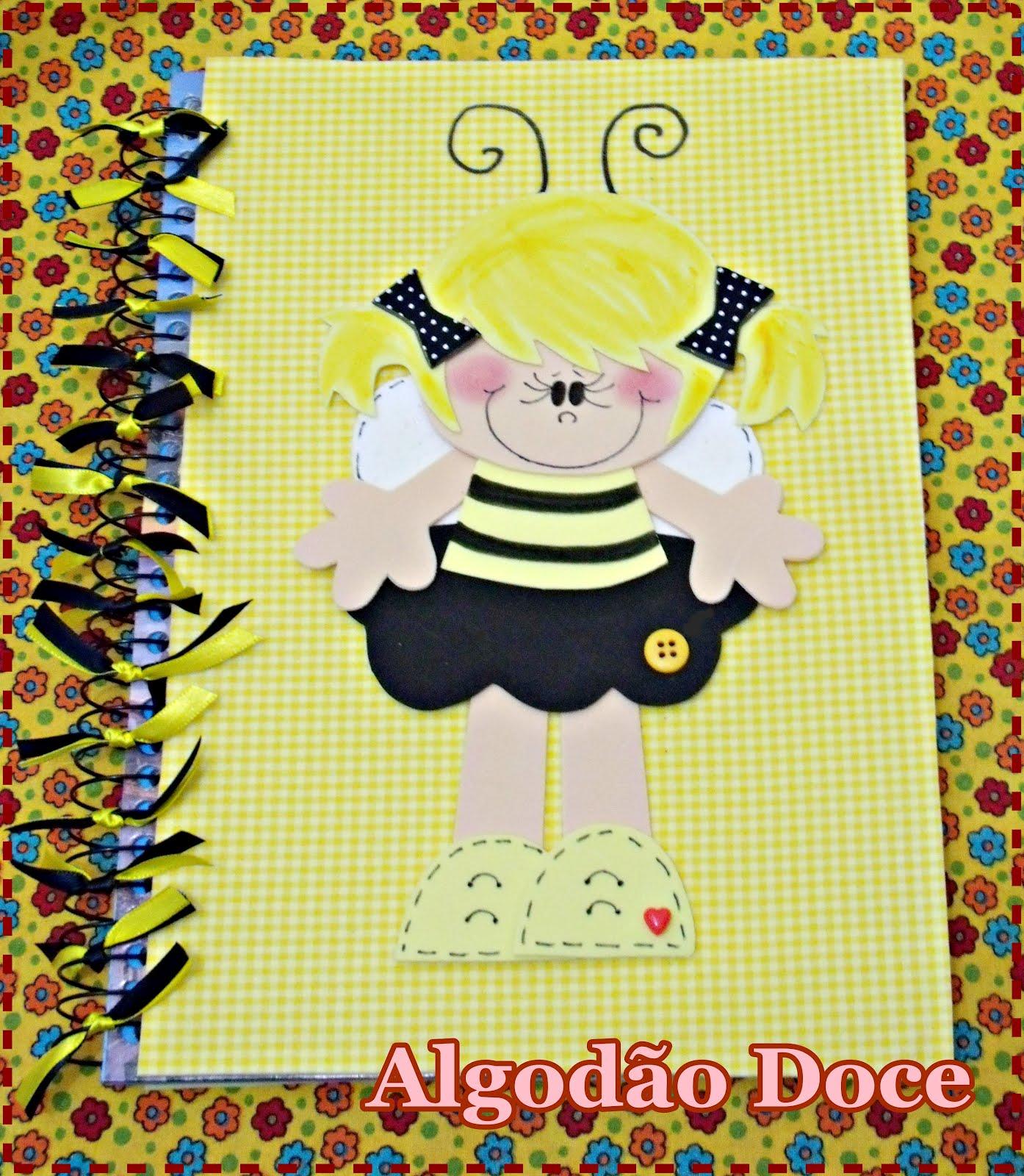 Caderno Abelha