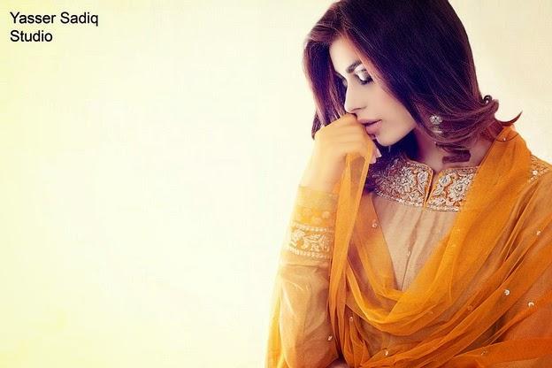 Zaheer Abbas Eid Collection 2014 wwwfashionhuntworldblogspot 1  - Zaheer Abbas Eid Collection 2014 For Women