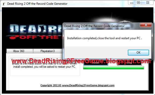 To download and install the Dead Rising 2: Off the Record game on your PC,