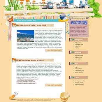 Take Care of Gardens blogger template. converted WordPress to Blogger template. gardening template blog