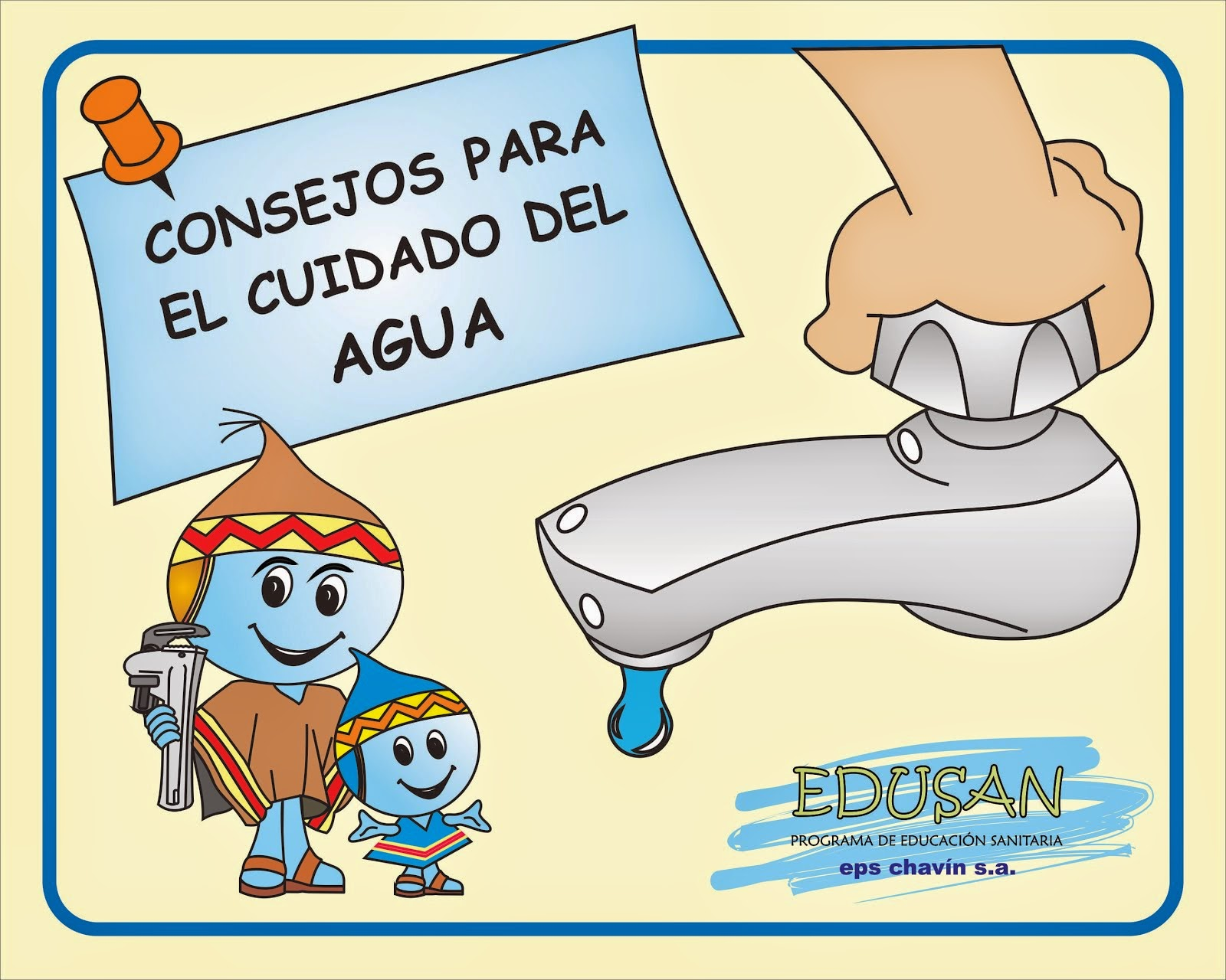 Cuidado del agua: