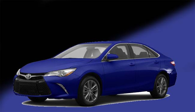 2016 Toyota Camry LE Model 2532 Blue