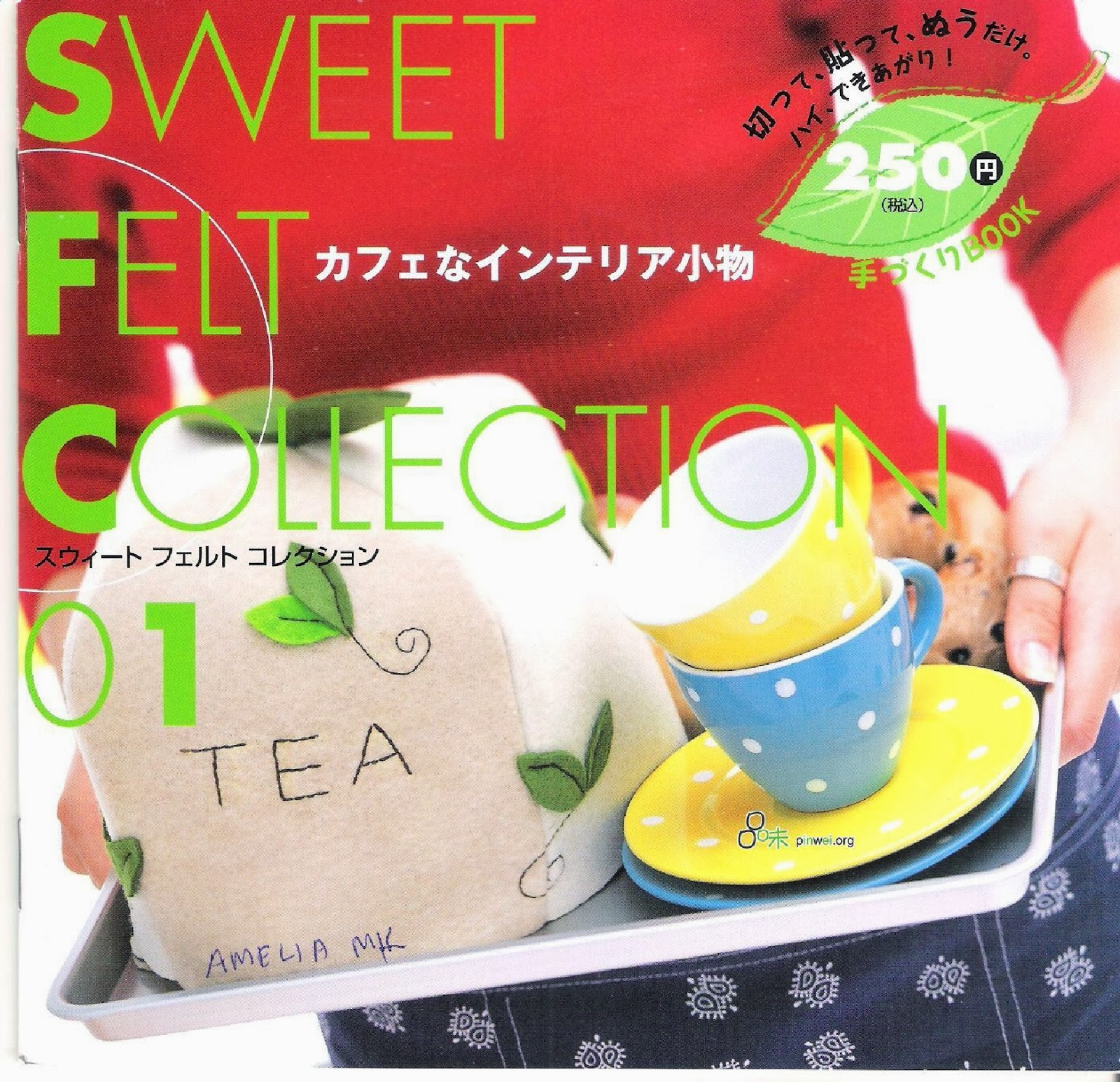 Felt craft book - Buku Ini Adalah Edisi Pertama Dari Seri Buku Sweet Felt Collection Dalam Buku Ini Kita Dapat Belajar Cara Membuat Pot Kecil Untuk Kaktus Tempat Cincin