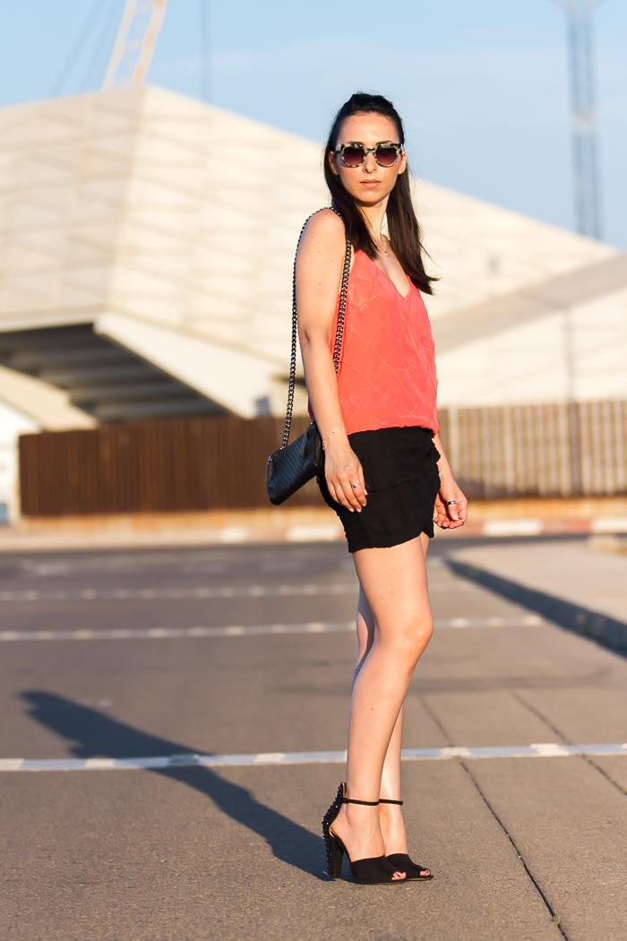 Blogger de moda de Valencia famosa