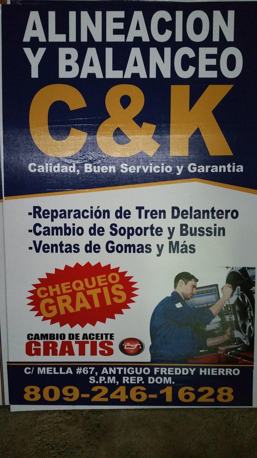 C&K ALINEACIÓN Y BALANCEO