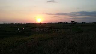 Sunset in Jembrana