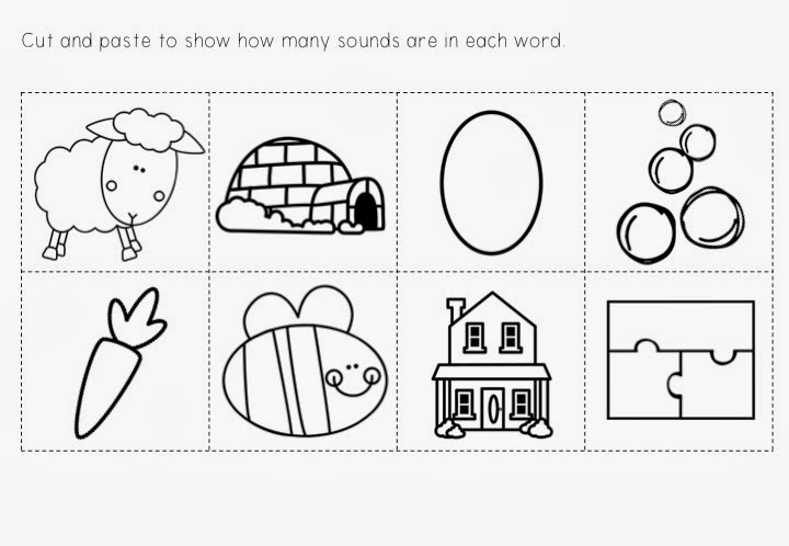 Love Laughter and Learning in Prep Phoneme Segmentation Fun – Phoneme Segmentation Worksheets