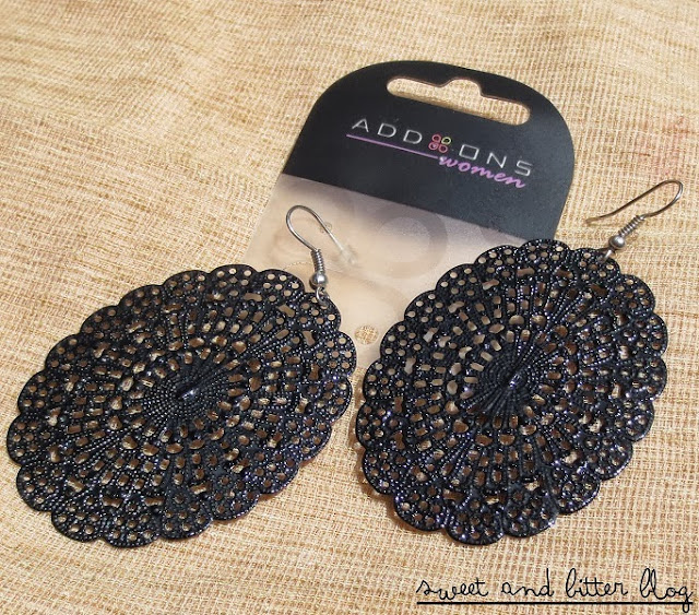 Black Earring from Add Ons