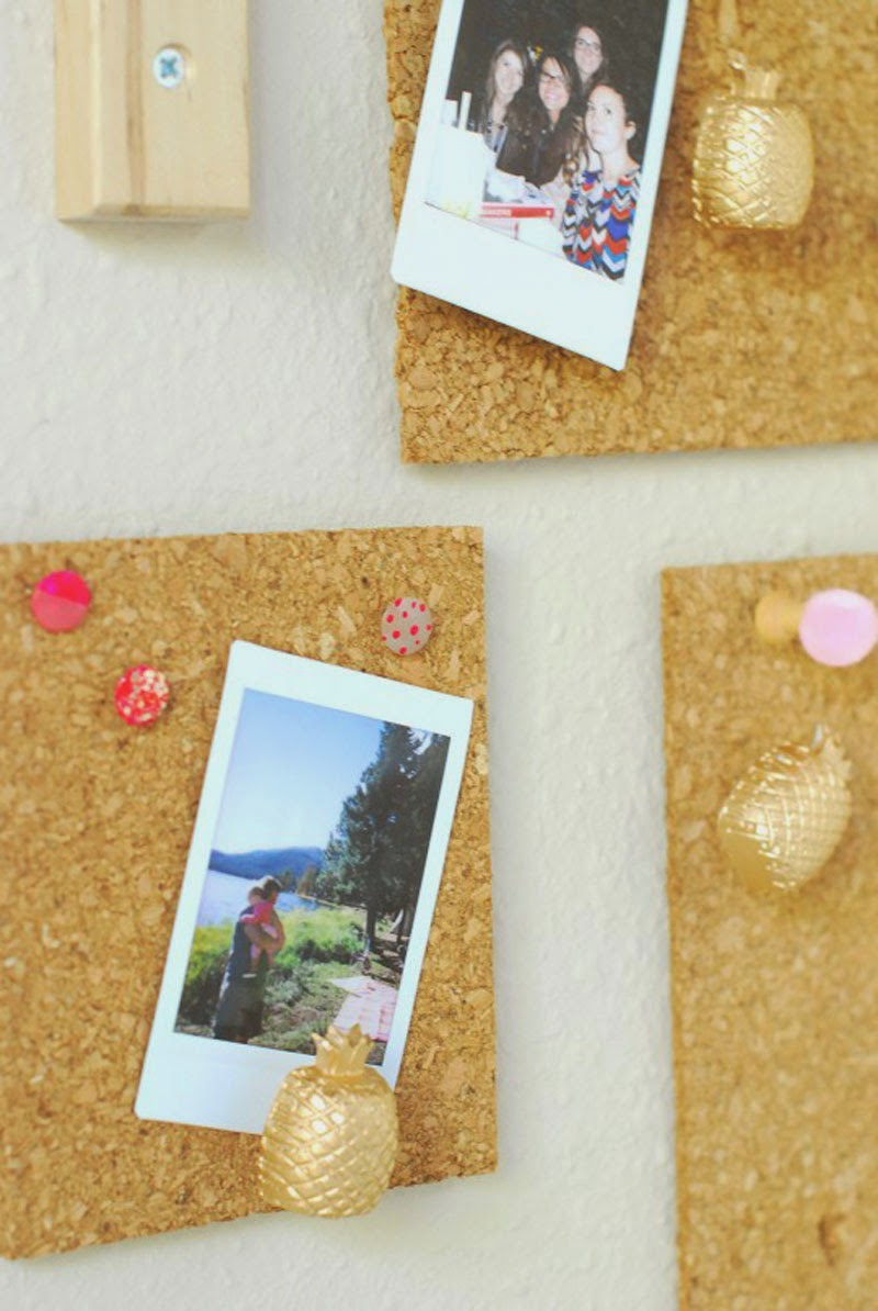 ideas para personalizar chinchetas con estos DIYs