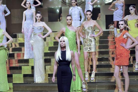 Versace alta costura primavera verano 2012