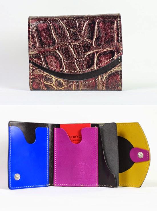小さい財布 アメジスト