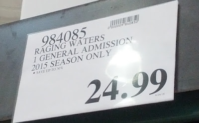 Deal for Raging Waters One Adult Single Day Admission Ticket at Costco