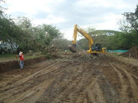 Ya se han excavado màs de 230 metros para los jarillones