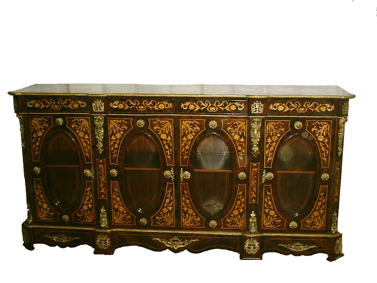 Antique furniture reproductions antique furniture reproductions - Italian Antique Neoclassical Marquetry Cabinet