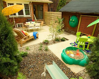 Backyard landscaping ideas for kids | Playground design ideas