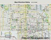 Beijing Downtown Map