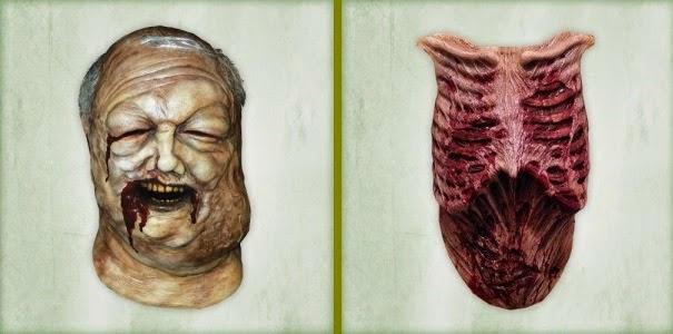 Maschera e Petto Zombie