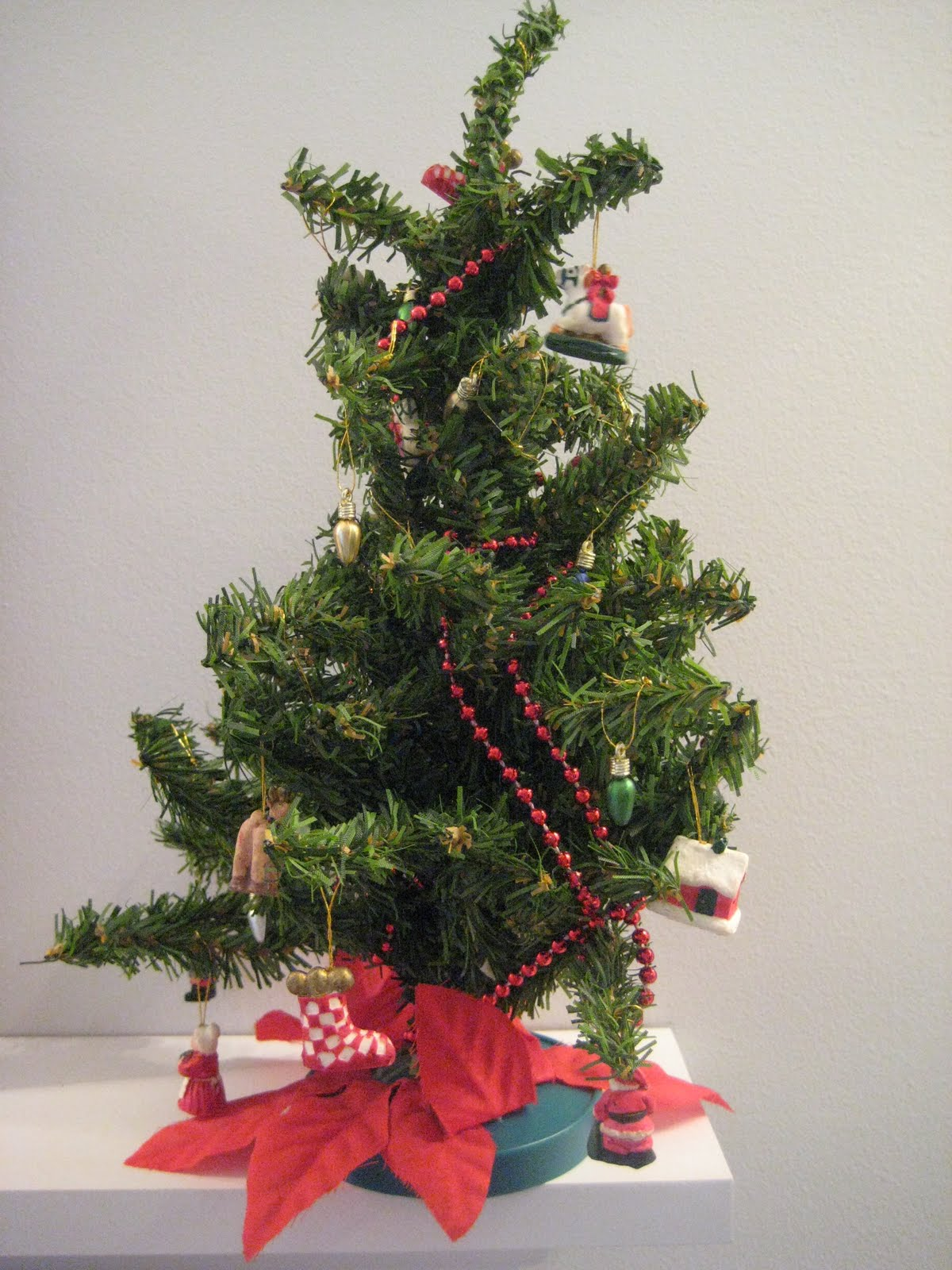 Potted Mini Christmas Tree