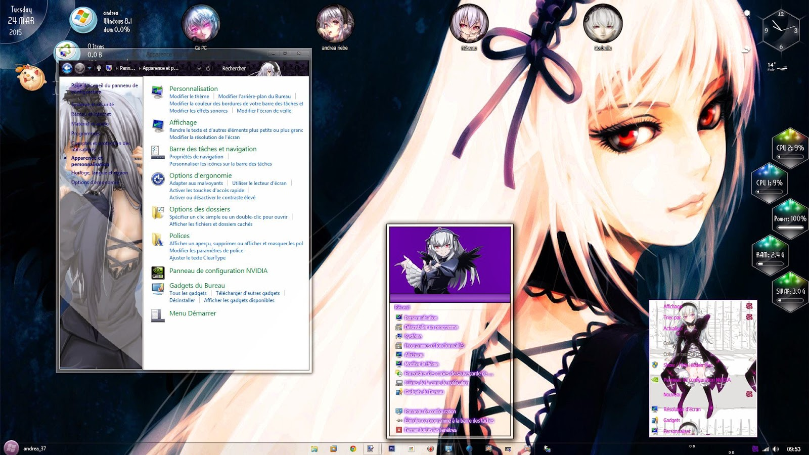 Rozen Maiden Win 8.1 Theme