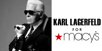 Karl Lagerfeld for MACYS!!!