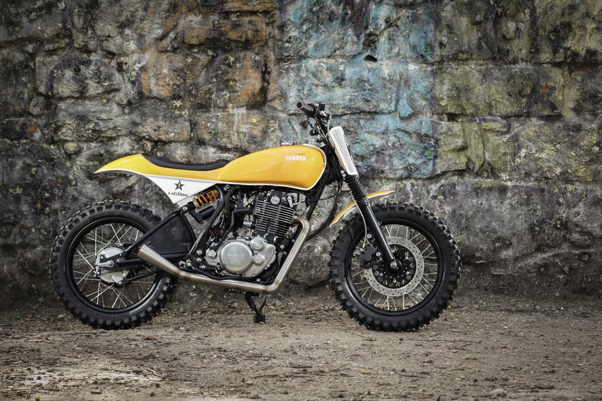 Racing Caf U00e8  Yamaha Sr 400  U0026quot Cs 05 Zen U0026quot  By It Rocks Bikes