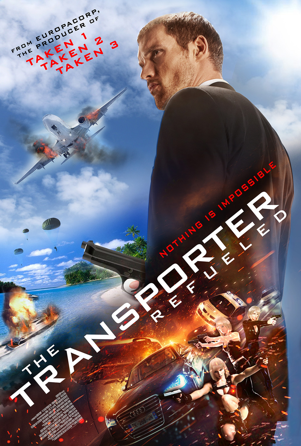 The Transporter kicks things into high gear, emphasis on