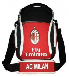 tas motif bola murah AC Milan