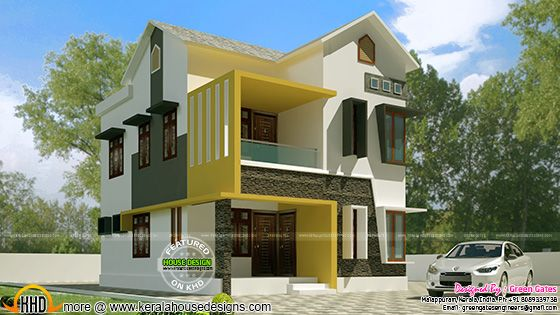 Front Elevation Of Duplex House In 700 Sq Ft Www