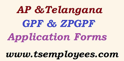 AP Telangana ZPGPF / GPF Application Forms AGGPF Final withdrawal Application form GPF Temporary advance loan application form GPF Part Final withdrawal Application form Nomination form for GPF and also telangana Zilla Parishad GPF Application Forms are ZPGPF Number allotment application form ZPGPF Loan application form ZP GPF Missing credits proforma ZP GPF Final withdrawal form AP Telangana ZPGPF / GPF Application Forms