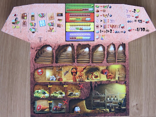 Dungeon Petz - A players Burrow Board
