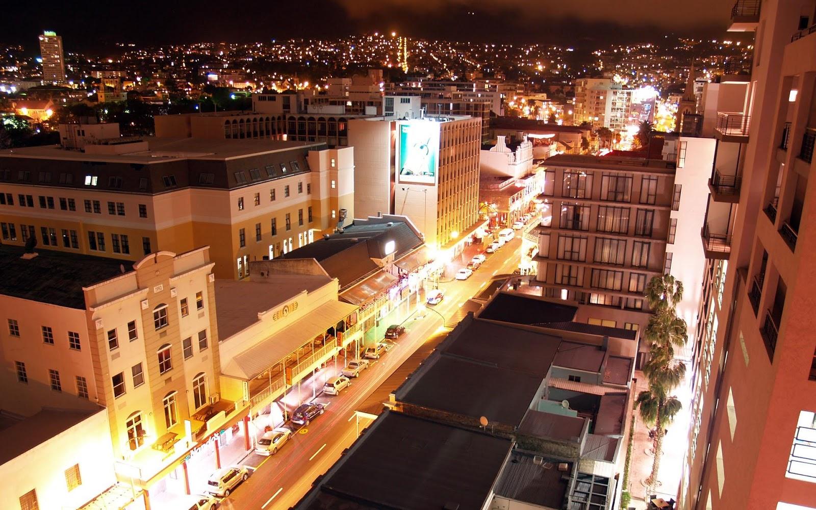 Cape Town City Night