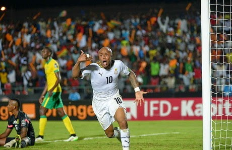 Piala Afrika : Ghana dan Aljazair Lolos ke Perempatfinal