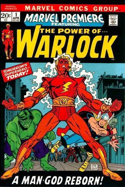 Marvel Premiere #1 Adam Warlock cover