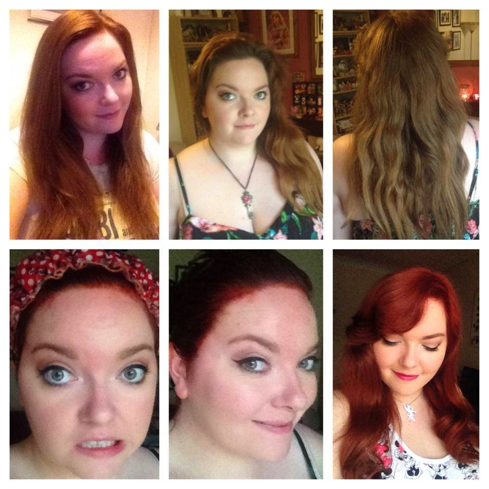 Happy Thoughts Amp Forget Me Nots Red Hair Update