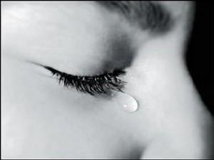 Chorar faz bem... depois de uma hora e meia