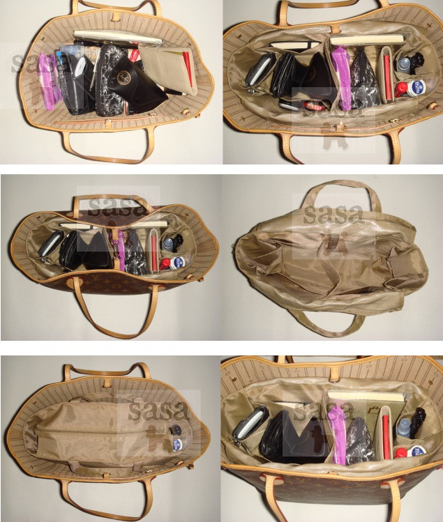 sweetdreamparadise  lv neverfull mm and gm bag organizer