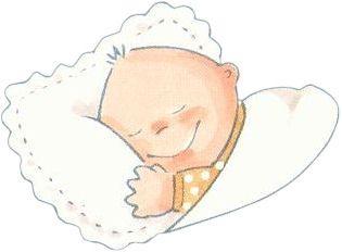Dibujos de bebes durmiendo - Dibujos pared bebe ...