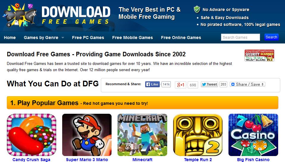 Situs Layanan Download Game Gratis (Online, PC, Android, Mobile)