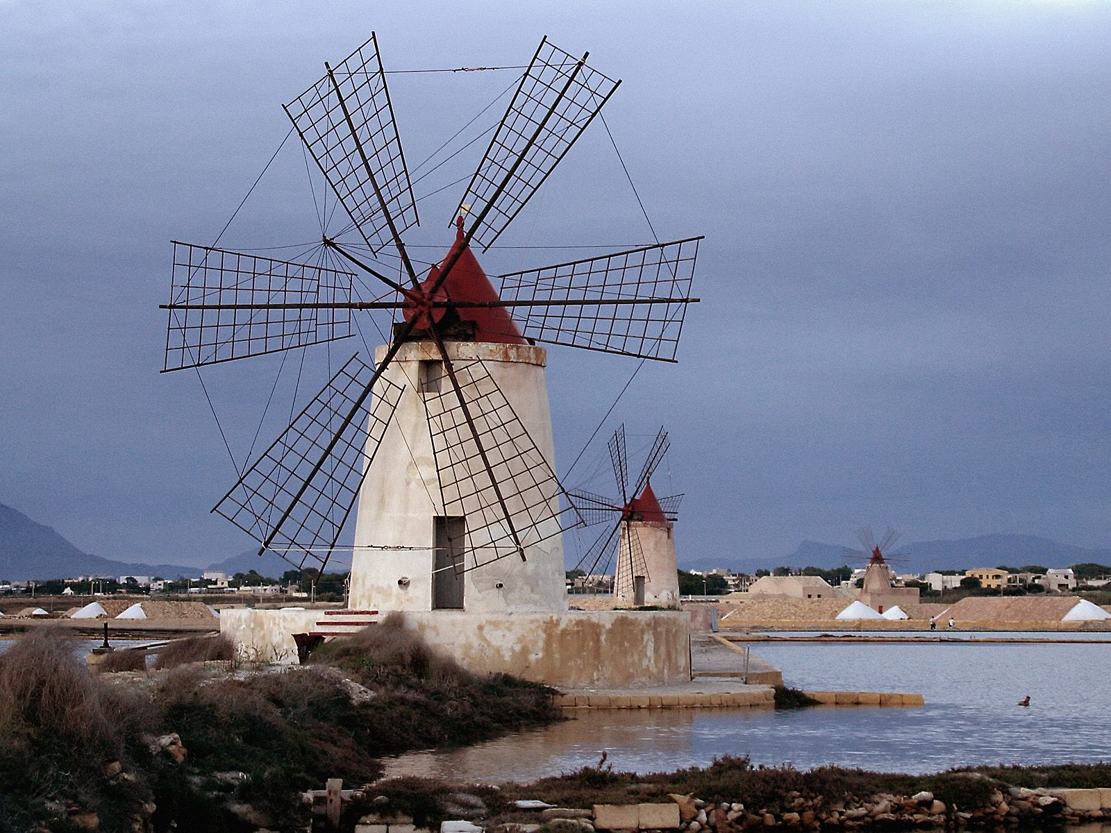 ... and More: Wordless Wednesday -- Windmills of the World #WW with Linky