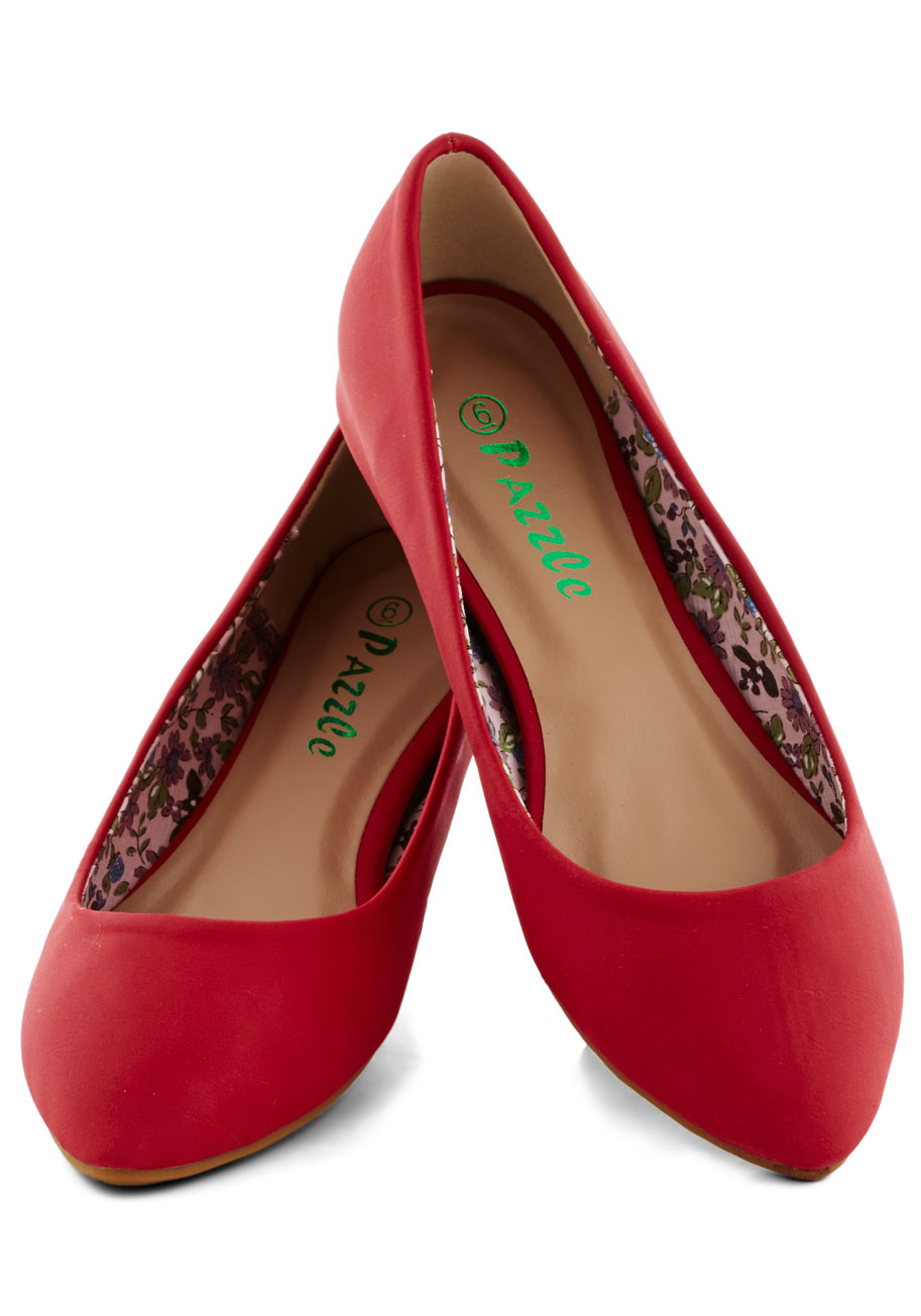 Fabulous Red Flats