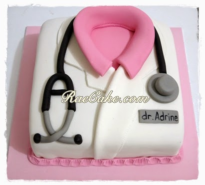 Doctor Cake for Adrine Kue Ulang Tahun Birthday CakeCupcake