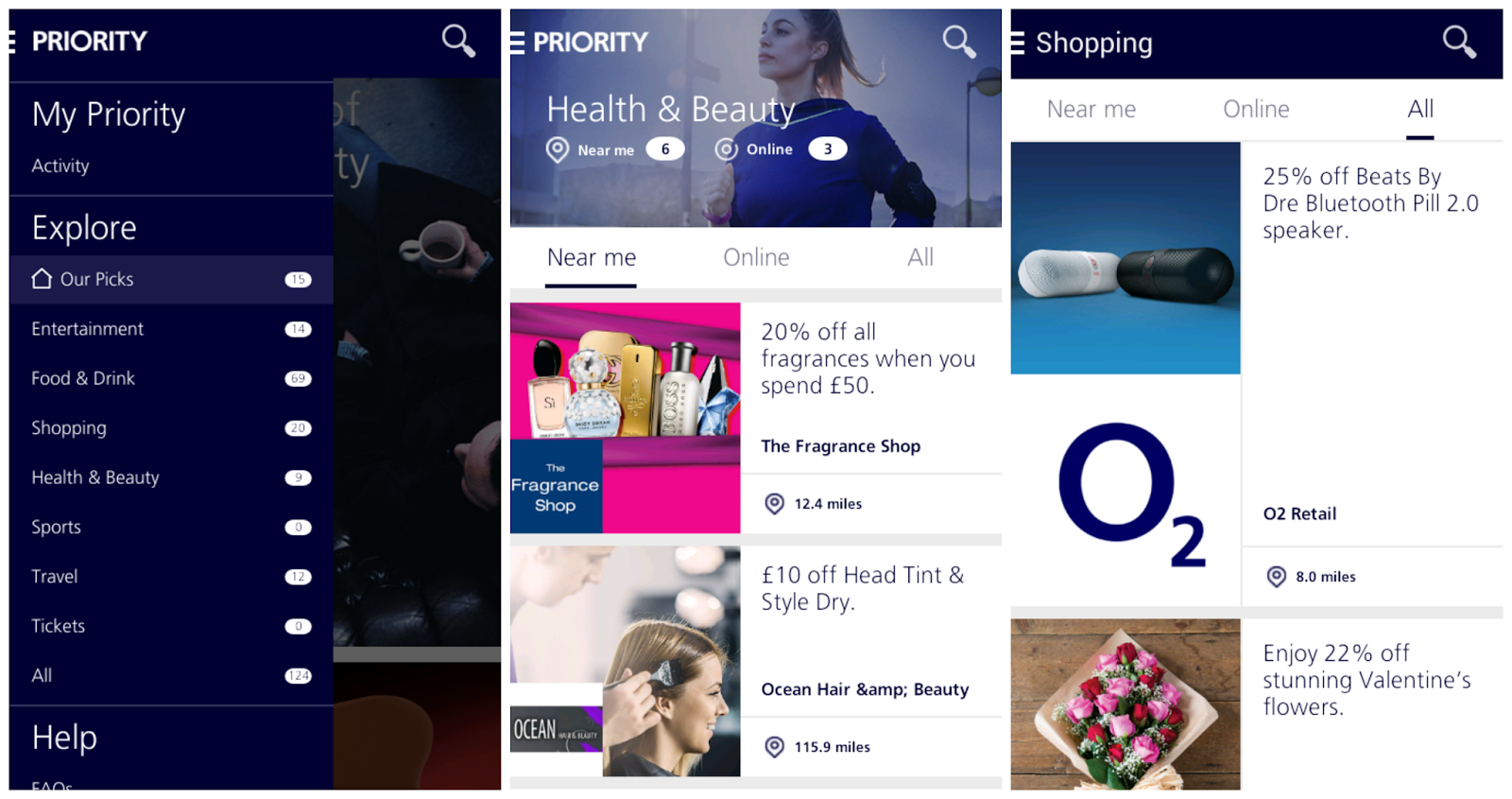 advantage loyalty cards money saving thriftiness o2 priority deals freebies