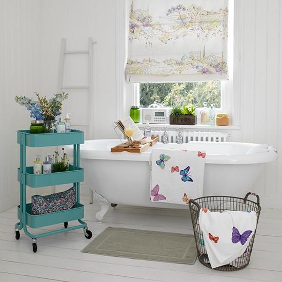Casinha bonitinha banheiros lindos com decora o vintage for Retro bathroom designs