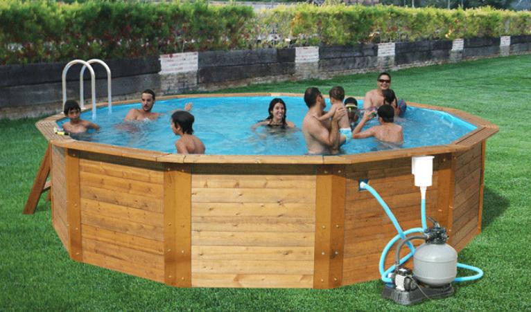 Hermanas y mamis toi piscinas en nuestro aniversario for Piscinas desmontables rigidas
