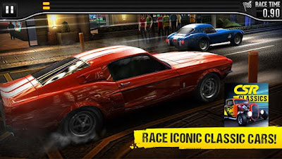CSR Classics Mod Apk + Data Zip / IOS Game Download